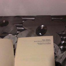 Libros de segunda mano de Ciencias: BREVE HISTORIA DE LA QUIMICA - ISAAC ASIMOV - ALIANZA EDITORIAL . Lote 114744067