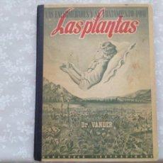 Libros de segunda mano: LIBRO LAS PLANTAS LAS ENFERMEDADES Y SUS TRATAMIENTOS POR DR VANDER - NUMERADO 2277. Lote 114974335