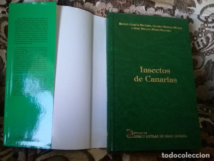 Libros de segunda mano: Insectos de Canarias, de VVAA. Cientos de fichas con foto a color. Excelente estado (entomologia) - Foto 2 - 115383747