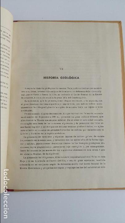 Libros de segunda mano: MAPA GEOLOGICO DE ESPAÑA. EXPLICACION DE LA HOJA Nº 944. ESPEJO, CORDOBA. 1955. CONTIENE 2 PLANOS - Foto 2 - 115584271
