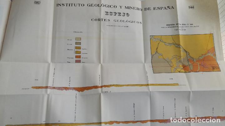 Libros de segunda mano: MAPA GEOLOGICO DE ESPAÑA. EXPLICACION DE LA HOJA Nº 944. ESPEJO, CORDOBA. 1955. CONTIENE 2 PLANOS - Foto 4 - 115584271