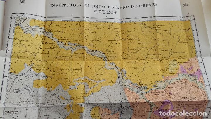 Libros de segunda mano: MAPA GEOLOGICO DE ESPAÑA. EXPLICACION DE LA HOJA Nº 944. ESPEJO, CORDOBA. 1955. CONTIENE 2 PLANOS - Foto 5 - 115584271
