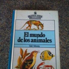 Libros de segunda mano: EL MUNDO DE LOS ANIMALES -- BIBLIOTECA JUVENIL BRUGUERA - SALI MONEY -- 1980 --. Lote 115706055