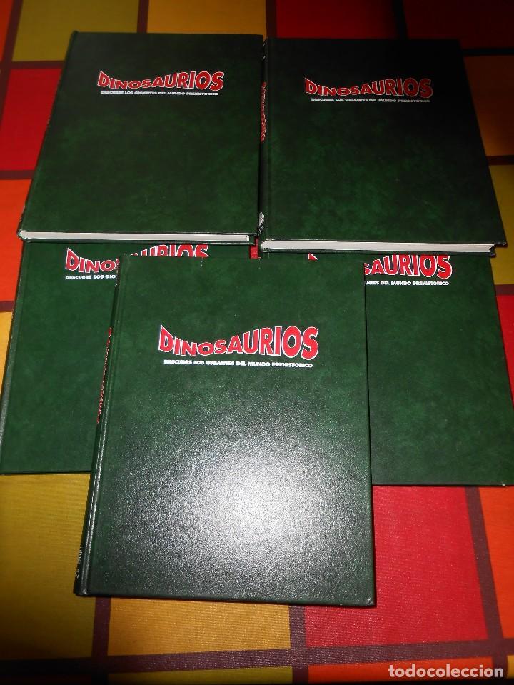 DINOSAURIOS.DESCUBRE LOS GIGANTES DEL MUNDO PREHISTÓRICO (Libros de Segunda Mano - Ciencias, Manuales y Oficios - Paleontología y Geología)