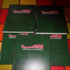 Libros de segunda mano: DINOSAURIOS.DESCUBRE LOS GIGANTES DEL MUNDO PREHISTÓRICO. Lote 115964679