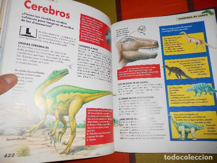 Libros de segunda mano: DINOSAURIOS.DESCUBRE LOS GIGANTES DEL MUNDO PREHISTÓRICO - Foto 4 - 115964679
