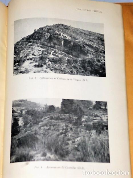 Libros de segunda mano: MAPA GEOLÓGICO DE ESPAÑA. EXPLICACIÓN DE LA HOJA NÚM. 845. YECLA (MURCIA) - Foto 4 - 116181135