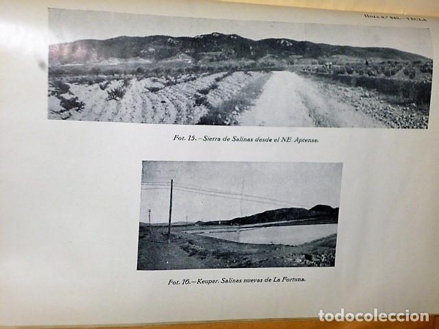 Libros de segunda mano: MAPA GEOLÓGICO DE ESPAÑA. EXPLICACIÓN DE LA HOJA NÚM. 845. YECLA (MURCIA) - Foto 7 - 116181135