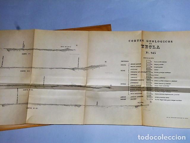 Libros de segunda mano: MAPA GEOLÓGICO DE ESPAÑA. EXPLICACIÓN DE LA HOJA NÚM. 845. YECLA (MURCIA) - Foto 9 - 116181135