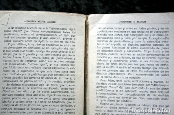 Libros de segunda mano: JARDINES Y FLORES - Antonio ALLUE MORER - CERES - VALLADOLID - ILUSTRADO - Foto 4 - 49065723