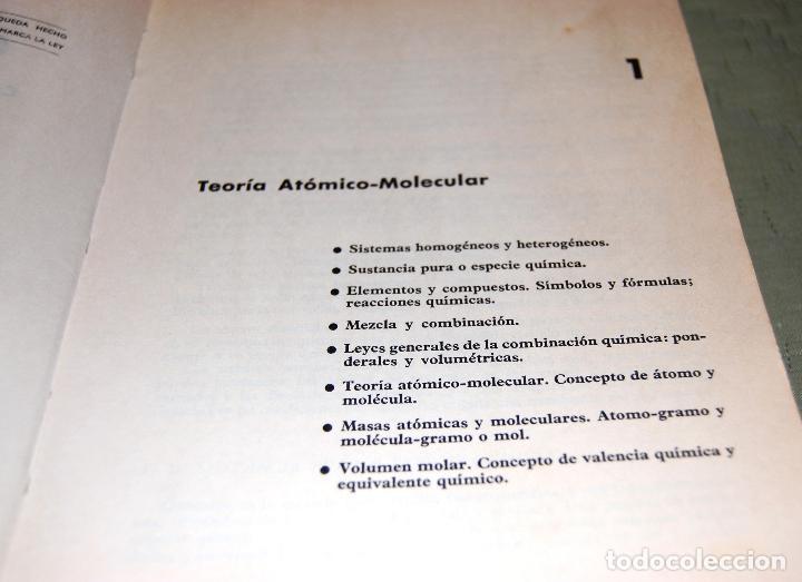 Libros de segunda mano de Ciencias: Química, curso de orientación universitaria (COU). - Foto 3 - 126995552