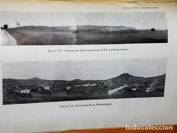 Libros de segunda mano: MAPA GEOLÓGICO DE ESPAÑA. EXPLICACIÓN DE LA HOJA NÚM. 818. MONTEALEGRE (ALBACETE-MURCIA) - Foto 4 - 116223611