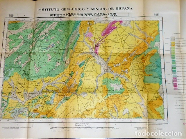 Libros de segunda mano: MAPA GEOLÓGICO DE ESPAÑA. EXPLICACIÓN DE LA HOJA NÚM. 818. MONTEALEGRE (ALBACETE-MURCIA) - Foto 5 - 116223611