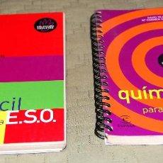 Libros de segunda mano de Ciencias: COLECCIÓN CHULETAS DE BACHILLERATO: FÍSICA Y QUÍMICA FÁCIL PARA LA ESO.. Lote 116325095