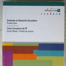 Libros de segunda mano de Ciencias: FÍSICA Y QUÍMICA - PRUEBA LIBRE GRADUADO / GRADO MEDIO PRUEBAS DE ACCESO CICLOS FP - ED. MAD 2000. Lote 116329823