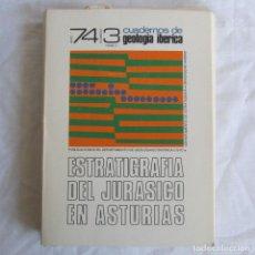 Libros de segunda mano: ESTRATIGRAFIA DEL JURÁSICO EN ASTURIAS CUADERNOS DE GEOLOGÍA IBÉRICA TOMO II COMPLETO. Lote 116373199