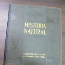 Libros de segunda mano: HISTORIA NATURAL.VIDA DE LOS ANIMALES, DE LAS PLANTAS Y DE LA TIERRA.TOMO IV. GEOLOGIA. GALLACH.1960. Lote 116513815