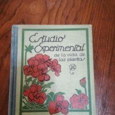 Libros de segunda mano - Estudio Experimental de la Vida de las Plantas. Ed. Seix Barral.7ª EDICION.1941. - 116952031