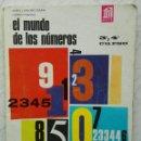 Libros de segunda mano de Ciencias: EL MUNDO DE LOS NÚMEROS 3° Y 4° CURSO ANAYA 1966. Lote 116966458