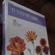 Libros de segunda mano: PLANTAS DE JARDIN,EL GRAN LIBRO 22X30 310 PP.MUY ILUSTRADO TELA- SOBRECUBIERTA,AÑO 1978.CONSERVADO. Lote 117105391