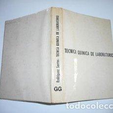 Libros de segunda mano de Ciencias: EDUARDO RODRIGUEZ SANTOS TÉCNICA QUÍMICA DE LABORATORIO RM85928. Lote 117284431