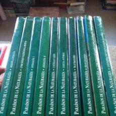Libros de segunda mano: PARAISOS DE LA NATURALEZA -- COMPLETA 10 TOMOS -- EDICIONES RUEDA 1998 --. Lote 117311651