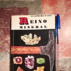 Libros de segunda mano: REINO MINERAL - H. ZIMM / P. SHAFFER - 400 ILUSTRACIONES EN COLOR - PEQUEÑA BIBLIOTECA DAIMON. Lote 117313843