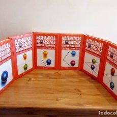 Libros de segunda mano de Ciencias: MATEMATICAS PROGRESIVAS. DIDACTICO PEDAGOGICAS. 6 VOLS. Lote 102654295