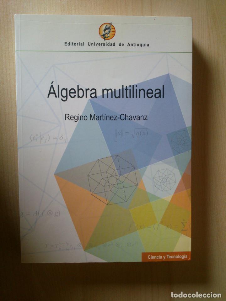 algebra multilineal regino martinez