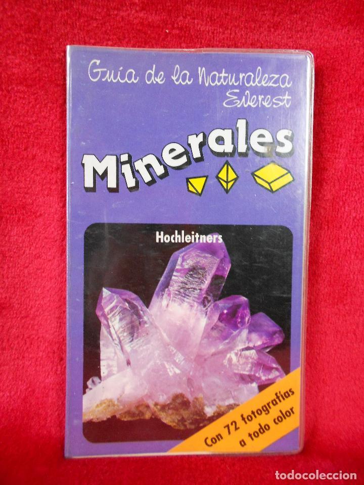 GUÍA DE LA NATURALEZA EVEREST, MINERALES. AÑOS 90 (Libros de Segunda Mano - Ciencias, Manuales y Oficios - Paleontología y Geología)