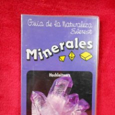 Livros em segunda mão: GUÍA DE LA NATURALEZA EVEREST, MINERALES. AÑOS 90. Lote 117908811