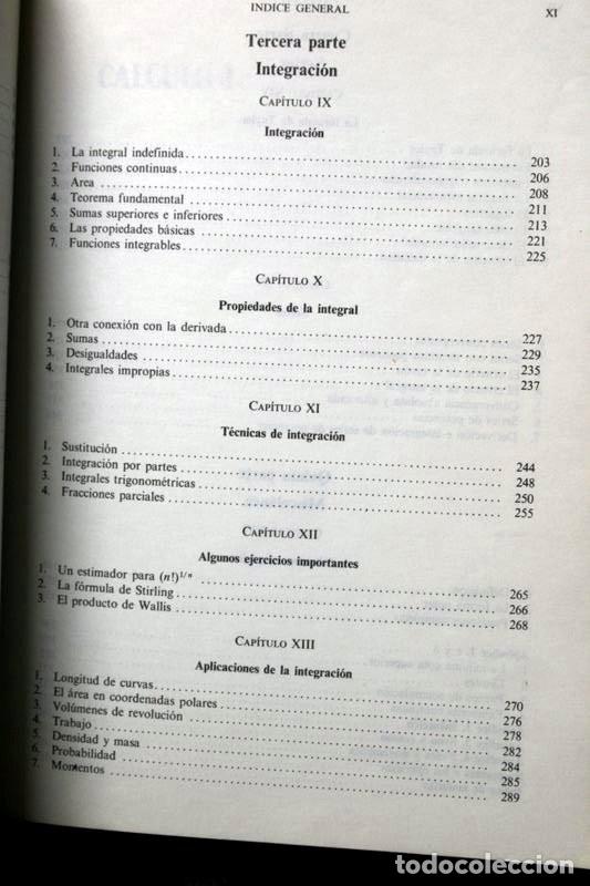 Libros de segunda mano de Ciencias: CALCULO I - LANG , Serge .- isbn: 9686630058 - Foto 2 - 51659482