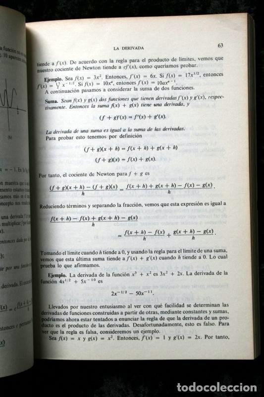 Libros de segunda mano de Ciencias: CALCULO I - LANG , Serge .- isbn: 9686630058 - Foto 3 - 51659482