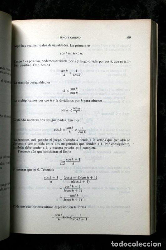 Libros de segunda mano de Ciencias: CALCULO I - LANG , Serge .- isbn: 9686630058 - Foto 4 - 51659482