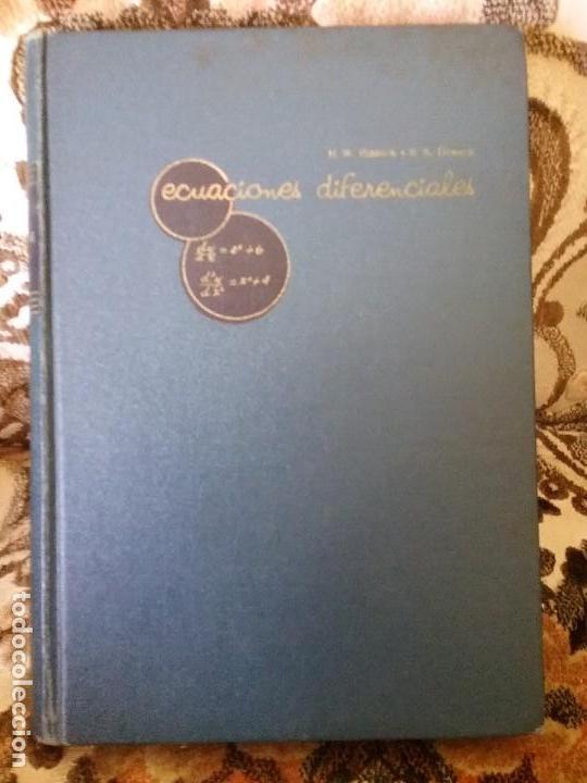 Libros de segunda mano de Ciencias: Ecuaciones diferenciales, de Reddick y Kibbey. Problemas resueltos. Matematicas. - Foto 2 - 118082151