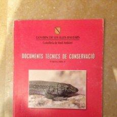 Libros de segunda mano: LLIBRE VERMELL DELS VERTEBRATS DE LES BALEARS (GOVERN DE LES ILLES BALEARS). Lote 118217790