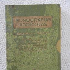 Libros de segunda mano: MONOGRAFIAS AGRICOLAS. ABONADO Y CULTIVOS. CONTIENE 6 LIBRITOS. DEL 1 AL 7, FALTA EL 3. PUBLICACIONE. Lote 118280323
