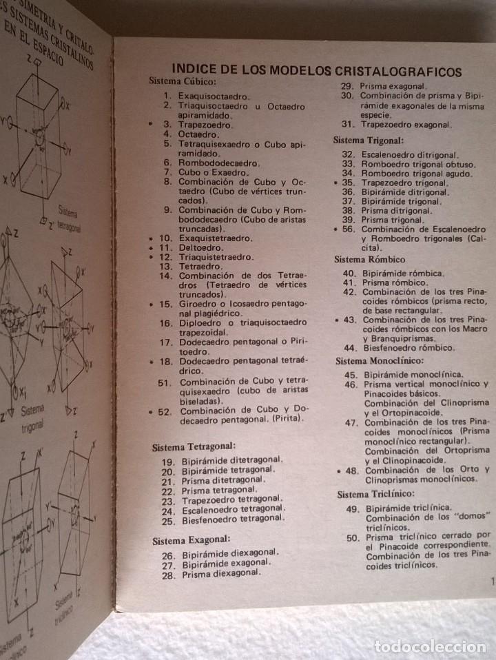 Libros de segunda mano: 315-60 modelos cristalogáficos-B Meléndez, PARANINFO, MADRID - Foto 4 - 54365801