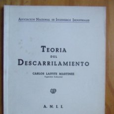 Libros de segunda mano de Ciencias: TEORÍA DEL DESCARRILAMIENTO, 1943. Lote 118389795
