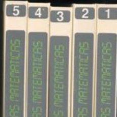 Libros de segunda mano de Ciencias: EL MUNDO DE LAS MATEMÁTICAS. 5 TOMOS. Lote 118564220
