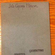 Libros de segunda mano de Ciencias: GEOMETRÍA DESCRIPTIVA. Lote 118669499