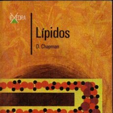 Libros de segunda mano de Ciencias: CHAPMAN : LÍPIDOS (ALHAMBRA, 1979). Lote 118682555