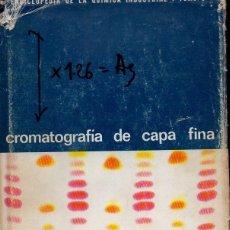Libros de segunda mano de Ciencias: RANDERATH : CROMATOGRAFÍA DE CAPA FINA (URMO, 1969). Lote 118682711