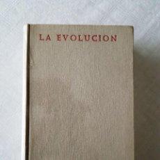 Libros de segunda mano: LA EVOLUCION . BIBLIOTECA DE AUTORES CRISTIANOS. 1966. (1ª EDICIÓN). Lote 118733163