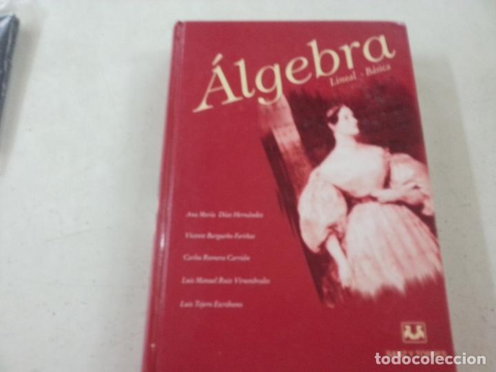 ALGEBRA LINEAL-BASICA - DIAZ HERNANDEZ, ANA MARIA / BARGUEÑO FARIÑAS, VICENTE / ROMERA CARRION, CARL (Libros de Segunda Mano - Ciencias, Manuales y Oficios - Física, Química y Matemáticas)
