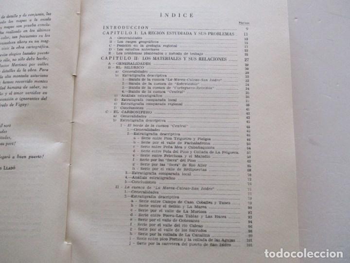 Libros de segunda mano: Estudios geológico del reborde oriental de la cuenca carbonífera central de Asturias. RM86069 - Foto 2 - 118885195