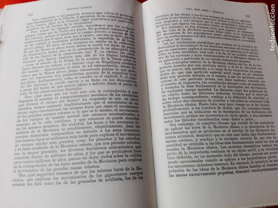 Libros de segunda mano de Ciencias: libro-uno,dos,tres...infinito-george gamow-nueva técnica-1969-espasa calpe-ver fotos - Foto 6 - 118903775