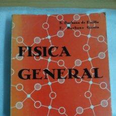 Libros de segunda mano de Ciencias: FISICA GENERAL, DE S. BURBANO DE ERCILLA. Lote 118929007