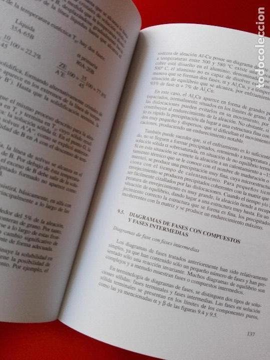 Libros de segunda mano de Ciencias: introducción al conocimiento de materiales-cuadernos uned-1996-3ªreimpresión-buen estado-ver fotos. - Foto 4 - 118948215