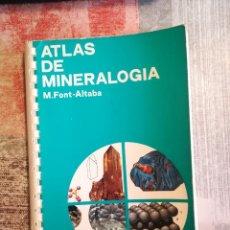 Libros de segunda mano: ATLAS DE GEOLOGÍA - M. FONT-ALTABA - EDICIONES JOVER 1975. Lote 119128571